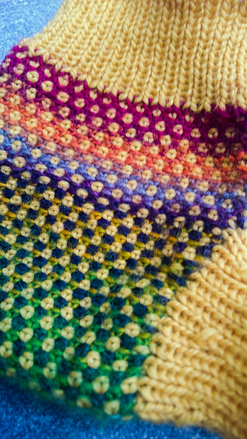linen stitch soaker